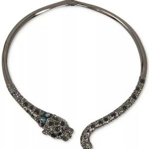 Jaguar Hinged Collar Necklace